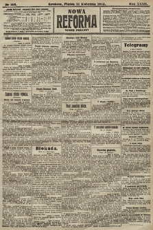 Nowa Reforma (numer poranny). 1913, nr166
