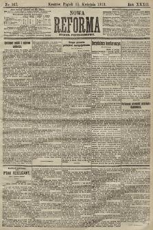 Nowa Reforma (numer popołudniowy). 1913, nr167