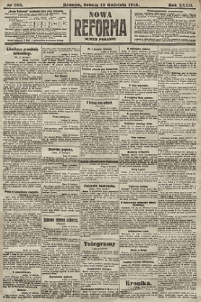 Nowa Reforma (numer poranny). 1913, nr168