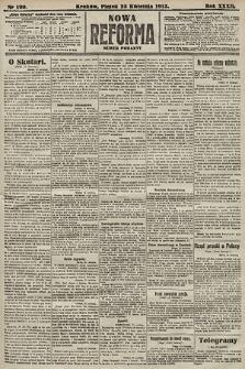 Nowa Reforma (numer poranny). 1913, nr190