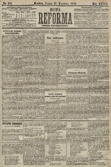 Nowa Reforma (numer popołudniowy). 1913, nr191