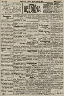 Nowa Reforma (numer poranny). 1913, nr192