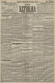 Nowa Reforma (numer popołudniowy). 1913, nr193