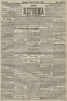 Nowa Reforma (numer popołudniowy). 1913, nr201
