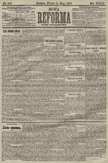 Nowa Reforma (numer popołudniowy). 1913, nr207