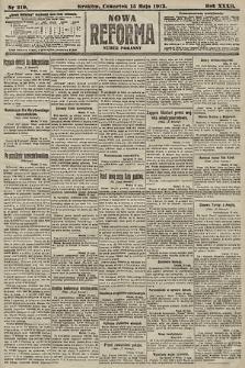 Nowa Reforma (numer poranny). 1913, nr219