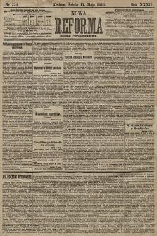 Nowa Reforma (numer popołudniowy). 1913, nr224