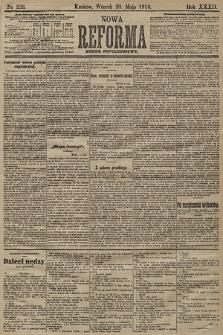 Nowa Reforma (numer popołudniowy). 1913, nr228