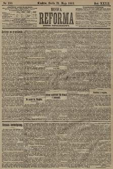 Nowa Reforma (numer popołudniowy). 1913, nr230
