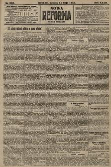 Nowa Reforma (numer poranny). 1913, nr233