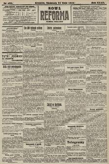 Nowa Reforma (numer poranny). 1913, nr235