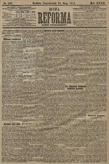 Nowa Reforma (numer popołudniowy). 1913, nr236