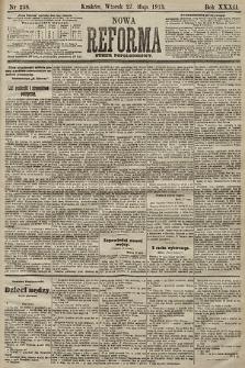 Nowa Reforma (numer popołudniowy). 1913, nr238