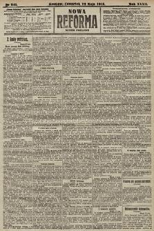 Nowa Reforma (numer poranny). 1913, nr241