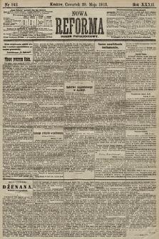 Nowa Reforma (numer popołudniowy). 1913, nr242
