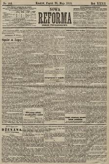 Nowa Reforma (numer popołudniowy). 1913, nr244