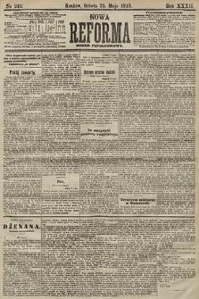 Nowa Reforma (numer popołudniowy). 1913, nr246