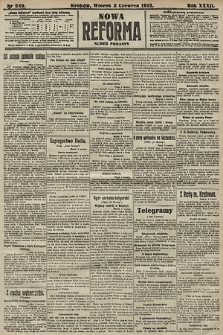 Nowa Reforma (numer poranny). 1913, nr249