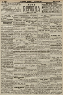 Nowa Reforma (numer poranny). 1913, nr251