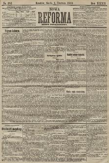 Nowa Reforma (numer popołudniowy). 1913, nr252