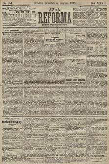 Nowa Reforma (numer popołudniowy). 1913, nr254