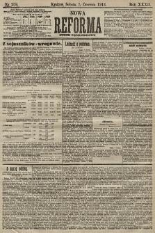 Nowa Reforma (numer popołudniowy). 1913, nr258