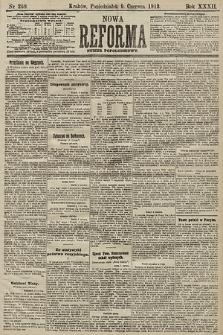 Nowa Reforma (numer popołudniowy). 1913, nr260