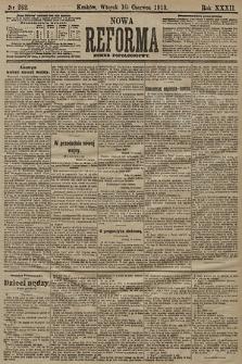 Nowa Reforma (numer popołudniowy). 1913, nr262