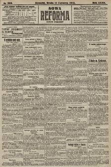 Nowa Reforma (numer poranny). 1913, nr263