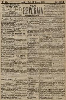 Nowa Reforma (numer popołudniowy). 1913, nr264