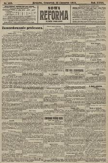 Nowa Reforma (numer poranny). 1913, nr265
