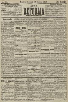 Nowa Reforma (numer popołudniowy). 1913, nr266