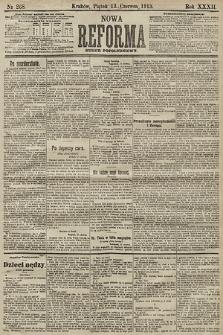 Nowa Reforma (numer popołudniowy). 1913, nr268