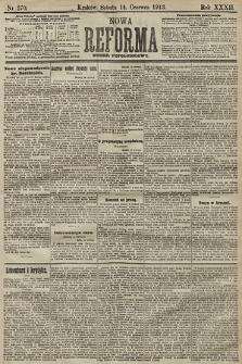 Nowa Reforma (numer popołudniowy). 1913, nr270