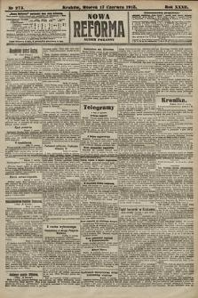 Nowa Reforma (numer poranny). 1913, nr273