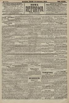 Nowa Reforma (numer poranny). 1913, nr275