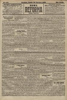 Nowa Reforma (numer poranny). 1913, nr279