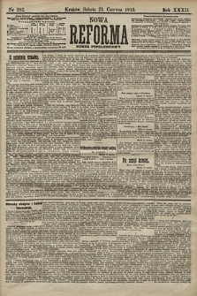 Nowa Reforma (numer popołudniowy). 1913, nr282