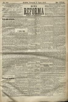 Nowa Reforma (numer popołudniowy). 1913, nr302