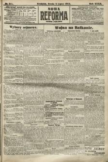Nowa Reforma (numer poranny). 1913, nr311