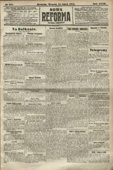 Nowa Reforma (numer poranny). 1913, nr321