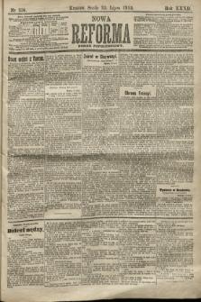Nowa Reforma (numer popołudniowy). 1913, nr336