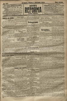 Nowa Reforma (numer poranny). 1913, nr351