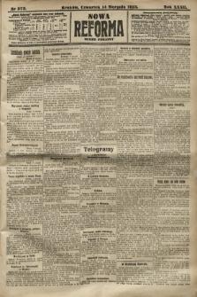 Nowa Reforma (numer poranny). 1913, nr373