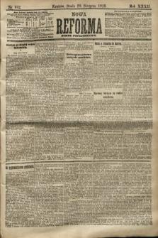 Nowa Reforma (numer popołudniowy). 1913, nr382
