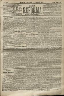 Nowa Reforma (numer popołudniowy). 1913, nr384