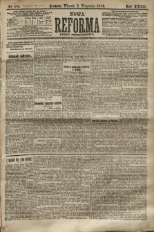Nowa Reforma (numer popołudniowy). 1913, nr404