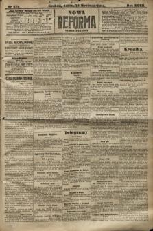 Nowa Reforma (numer poranny). 1913, nr421