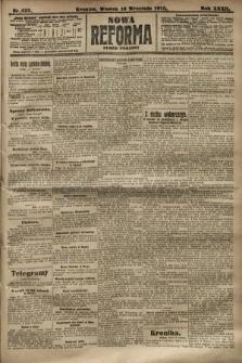 Nowa Reforma (numer poranny). 1913, nr425