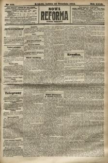 Nowa Reforma (numer poranny). 1913, nr433